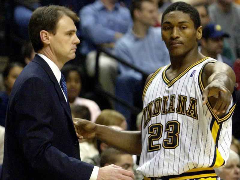 Ron Artest and Rick Carlisle