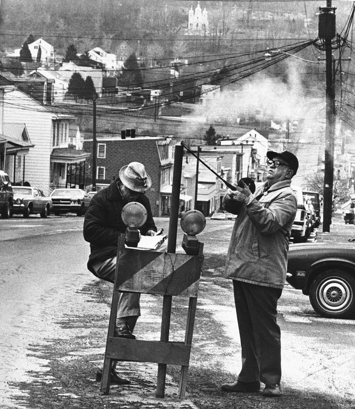 1981 photo of Centralia, Pennsylvania
