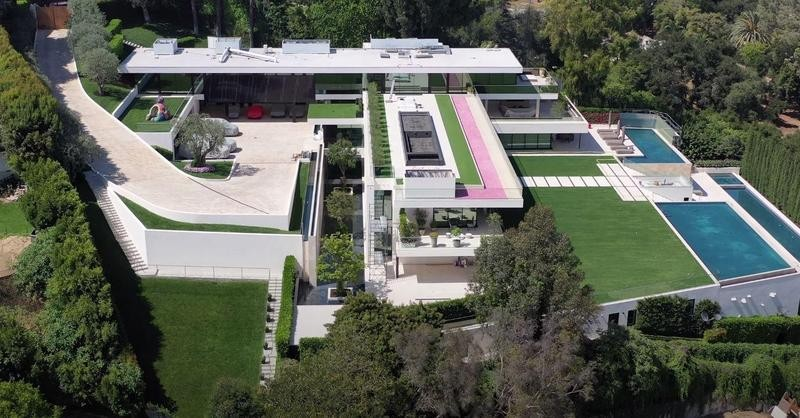 Beyonce and Jay Z's house
