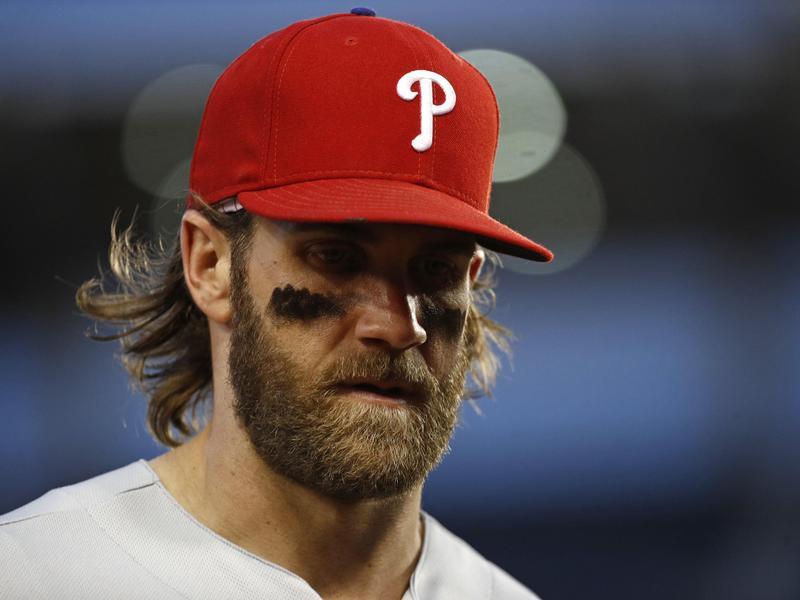 Philadelphia Phillies right fielder Bryce Harper