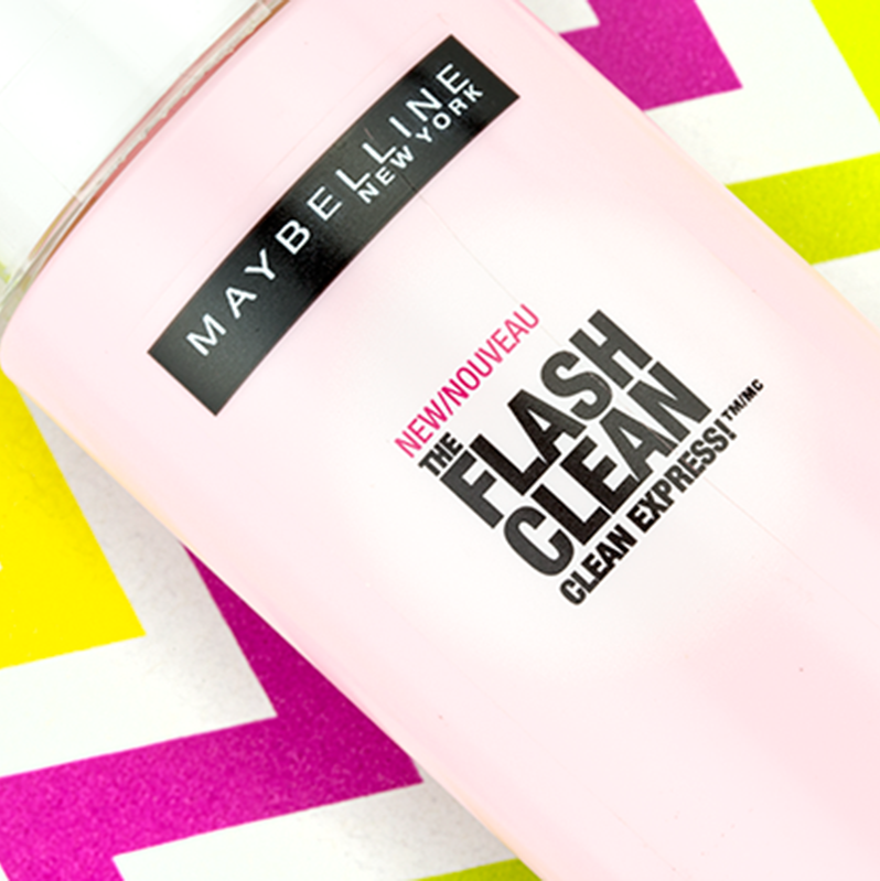 Maybelline New York Flash Clean Express Makeup Removing Lotion
