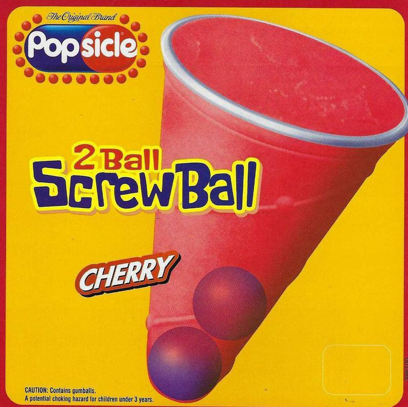Screwball Popsicle Treat