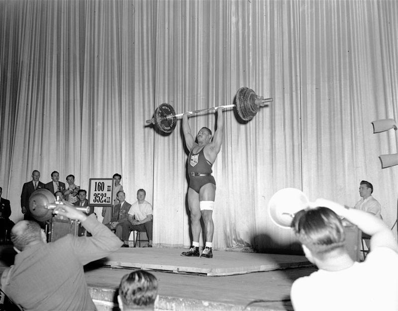 Brooklyn's John Davis competing