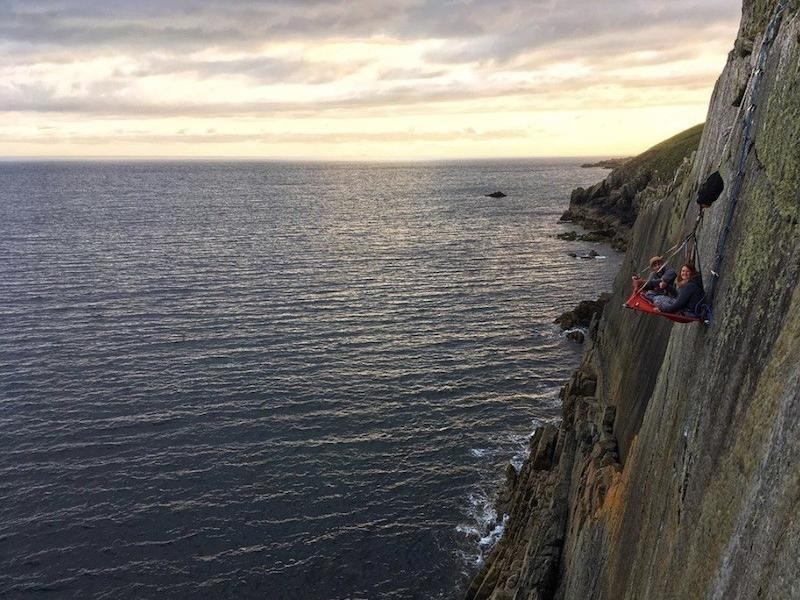 Cliff Camping Wales