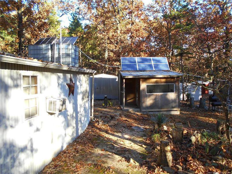 Solar-powered compound