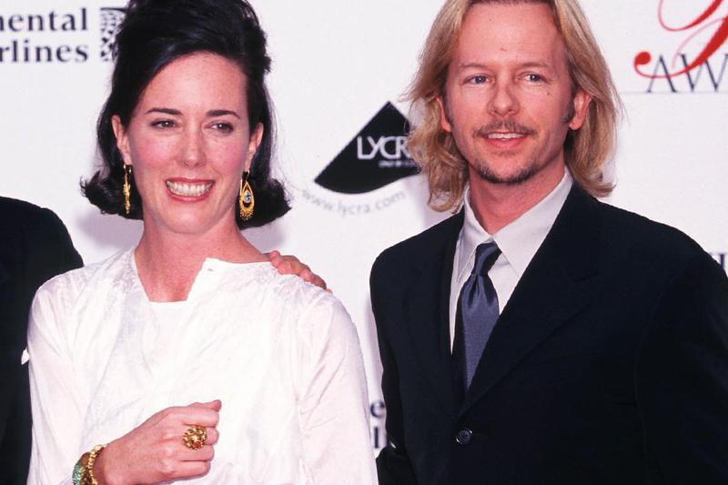 Kate Spade and David Spade