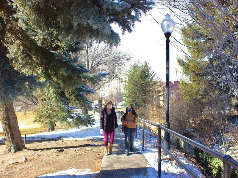 Students at University of Nevada, Reno