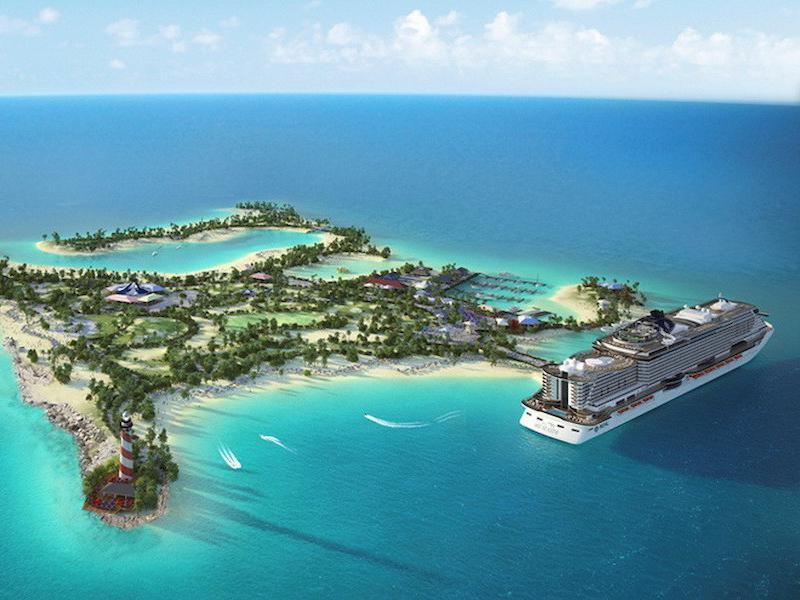 Ocean Cay Marine Reserve Rendering