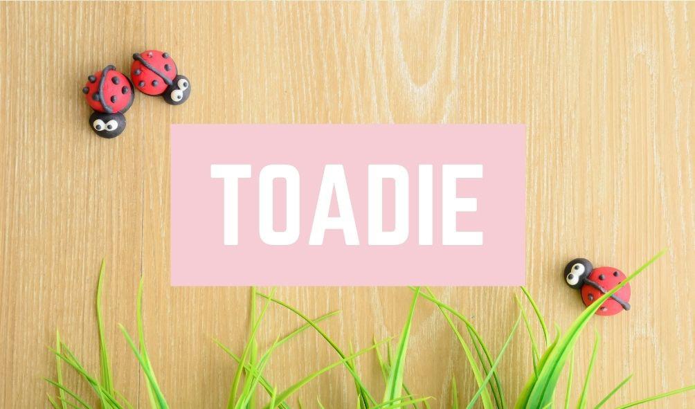 Funny Baby Names: Toadie