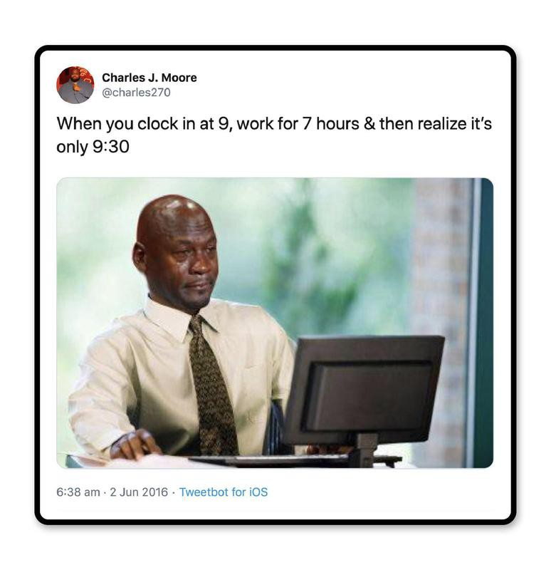 Clock struggles