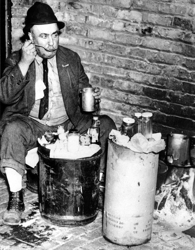 Homeless in Chicago during the Great Depression