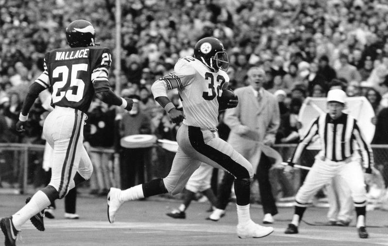Franco Harris in Super Bowl IX