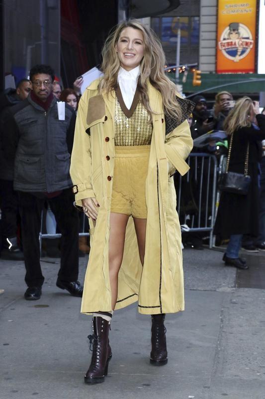 "Blake Lively at ""Good Morning America"" in New York"