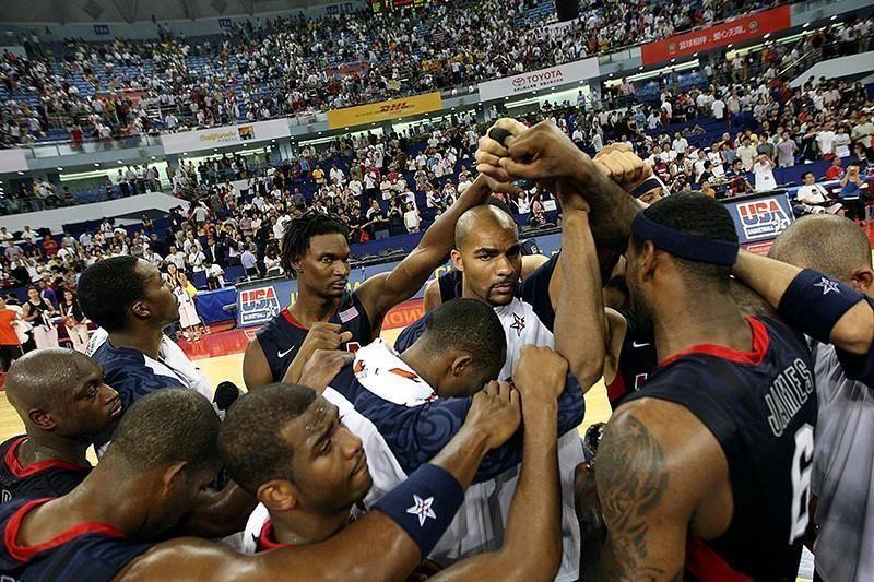 U.S. basketball team at the 2008 Olympics