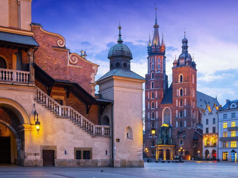 St. Mary's Basilica in Krakow, Poland