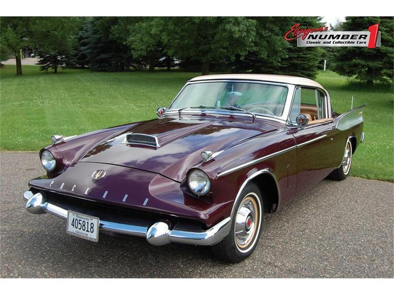Purple 1958 Packard Hawk