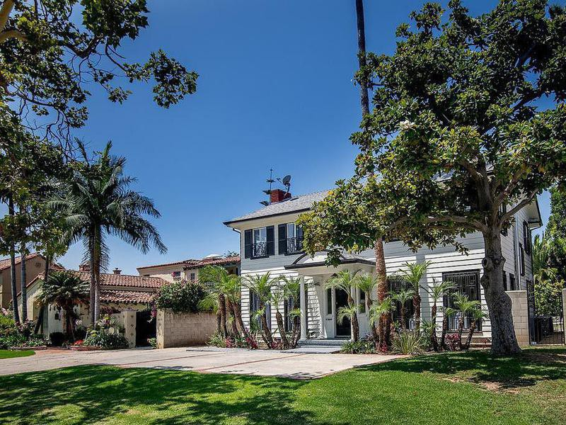 Meghan Markle's house in Los Angeles