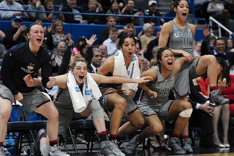 UConn women's basketball team in 2017