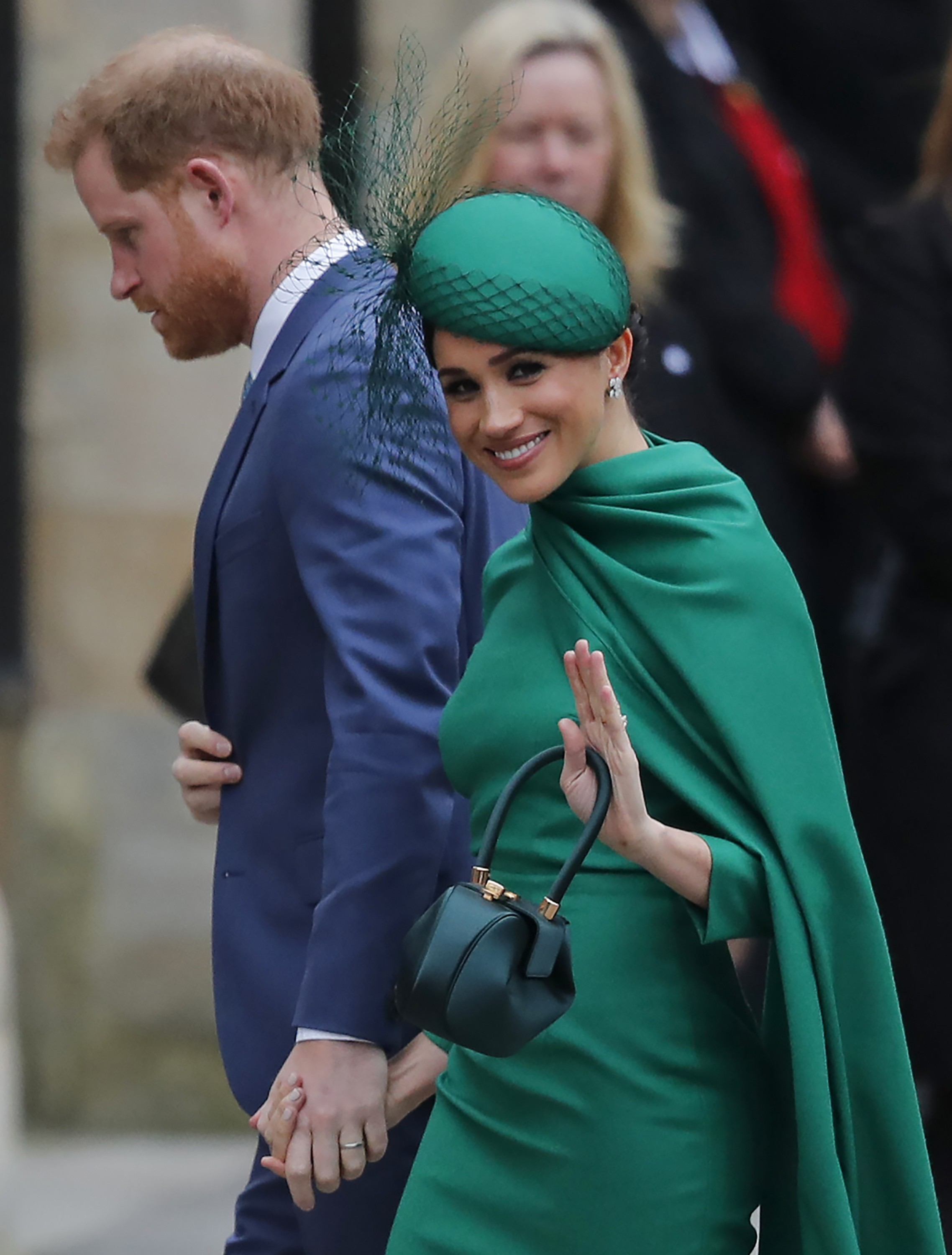 Meghan Markle and Prince Harry in 2020