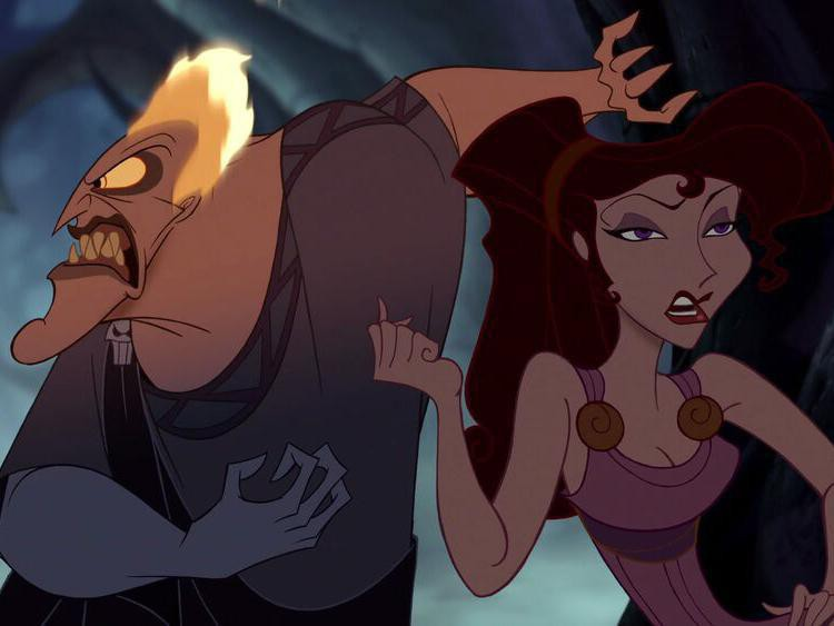 Hades and Meg from Hercules