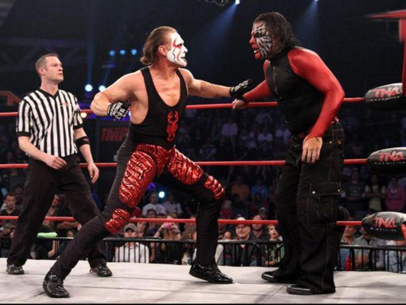 Jeff Hardy vs. Sting at Victory Road