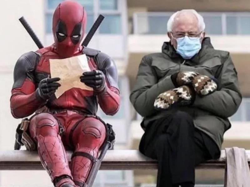 Deadpool and Bernie Sanders
