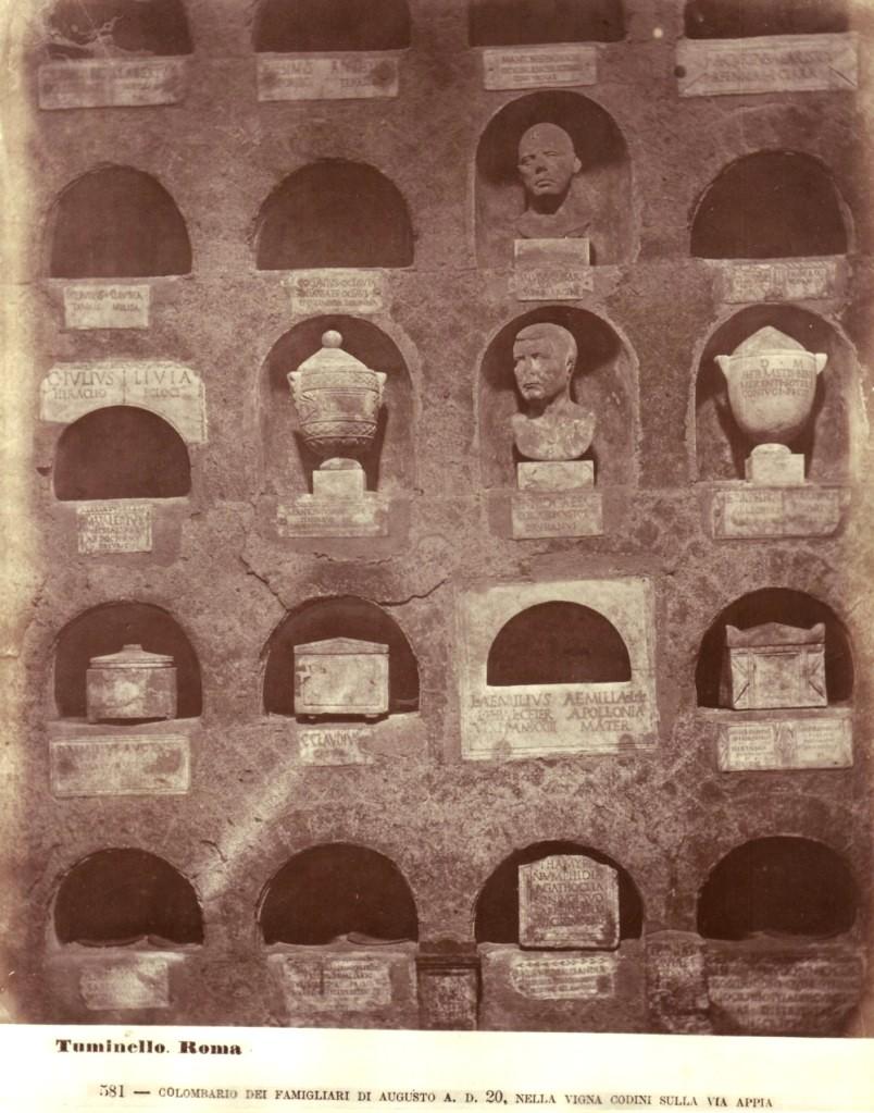 Ancient Roman columbarium