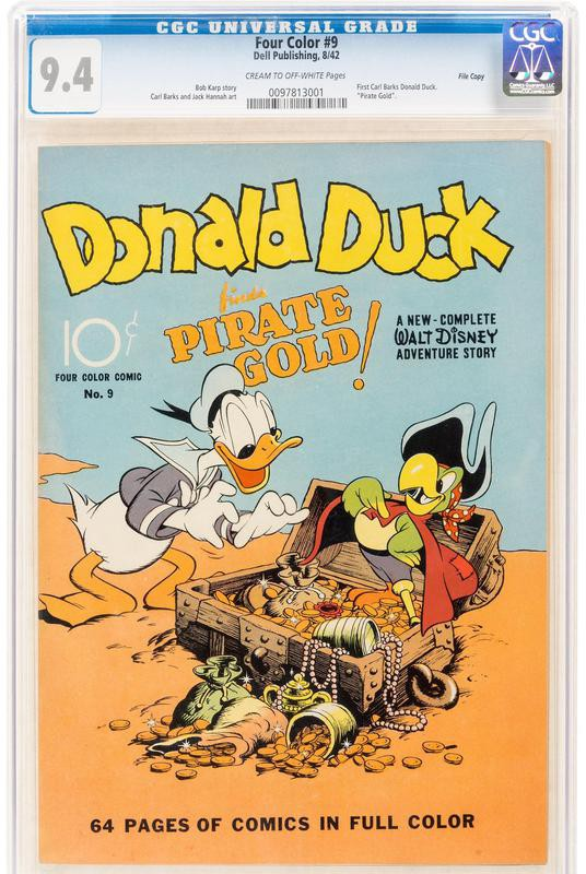 Donald Duck Pirate Gold