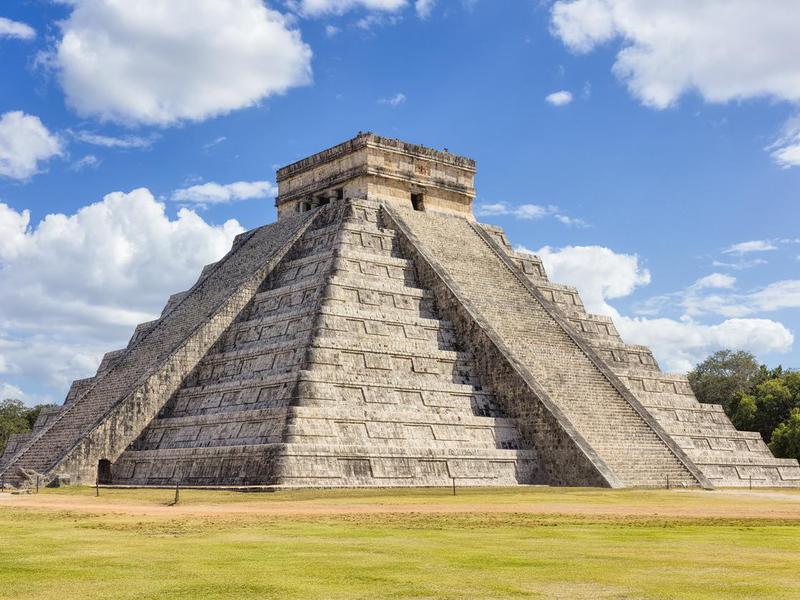 Mayan Pyramid Chichen Itza Mexico