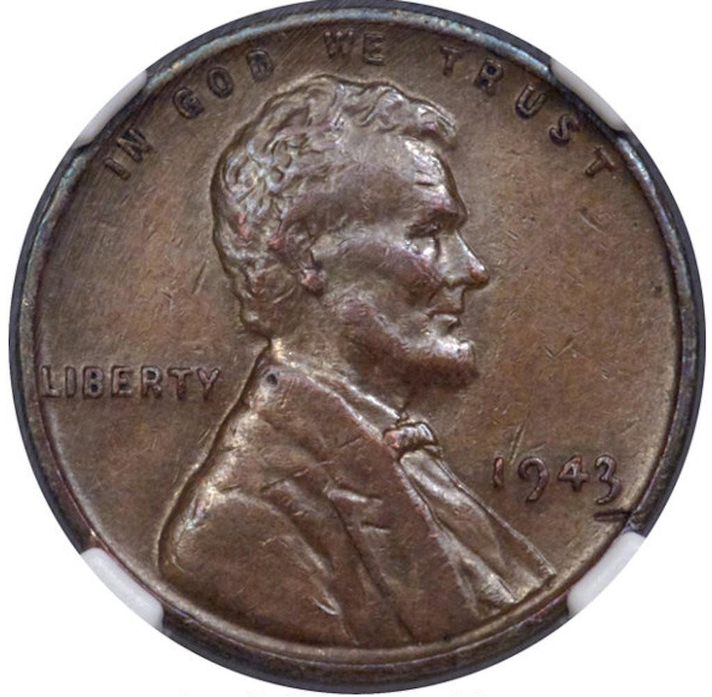 1943 Bronze Lincoln Penny