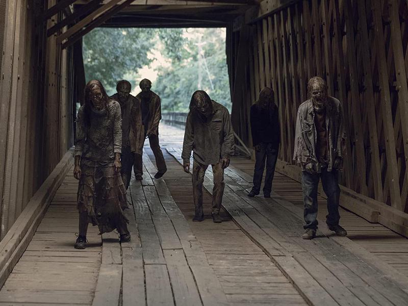 The Walking Dead extras