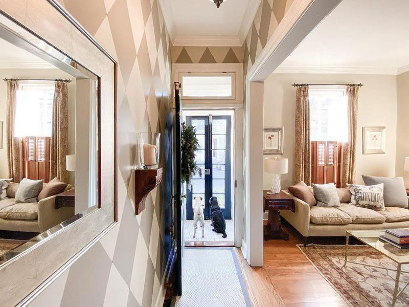 Old Town Home entryway