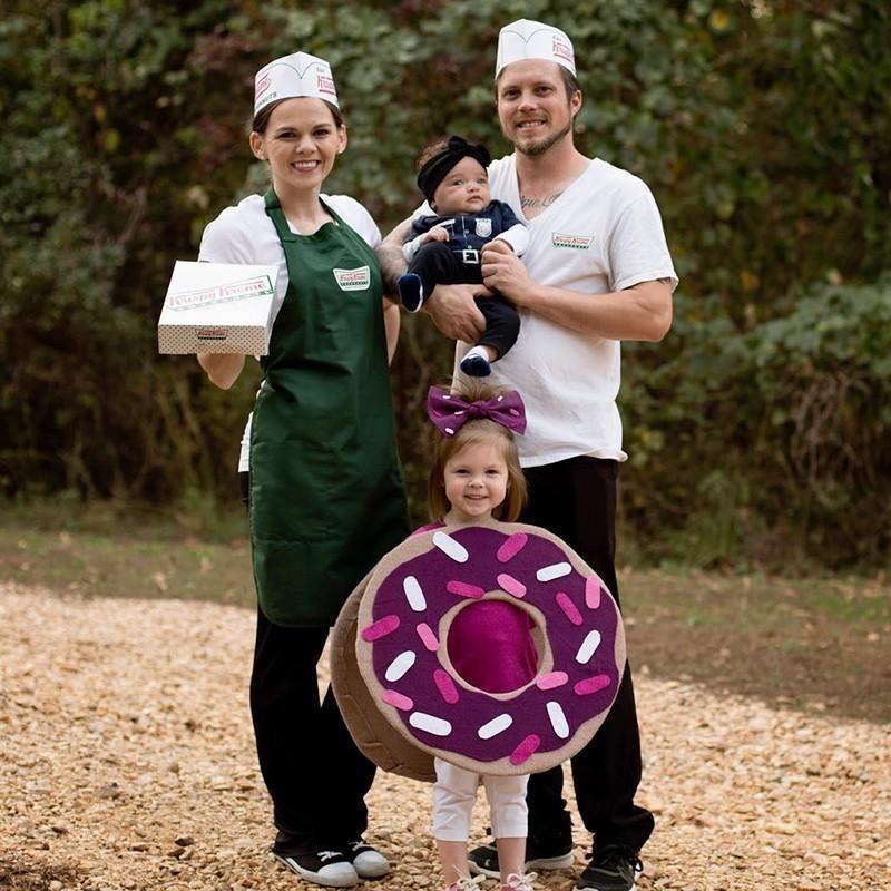 Krispy Kreme costumes