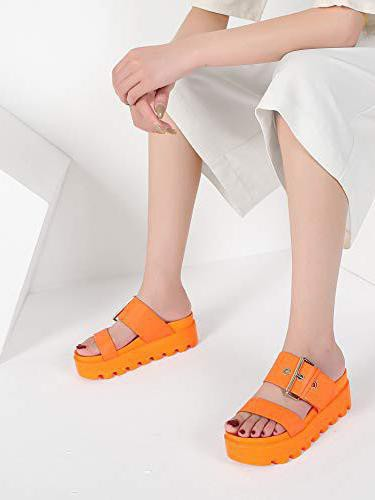 MACKIN J 591-1 Women's Open Toe Platform Slide Sandals