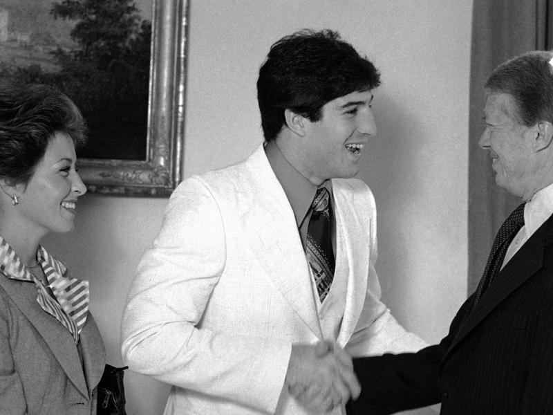 Mike Rossman, Jimmy Carter, Maxine Rossman