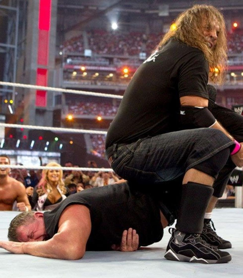 Bret Hart vs. Vince McMahon