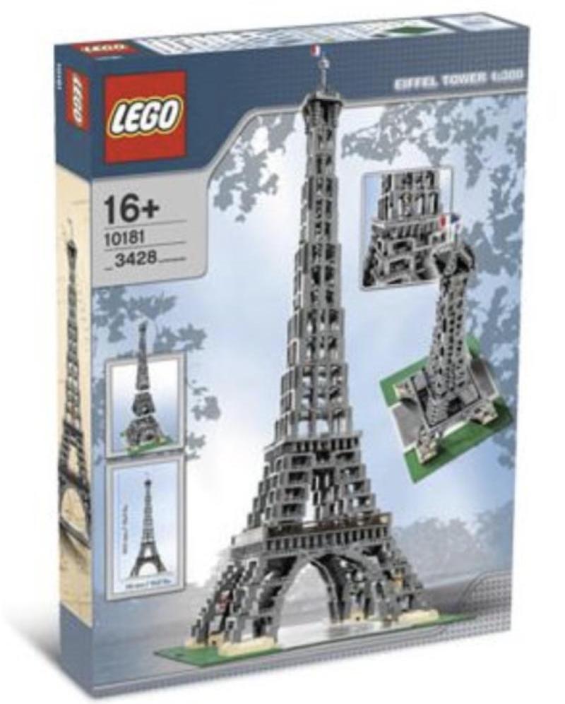 Eiffel Tower Lego