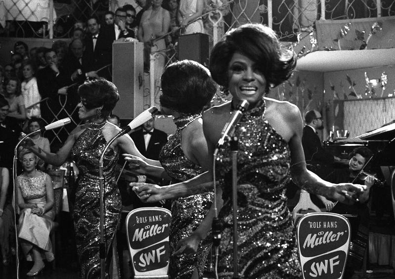 Diana Ross and The Supremes in 1968