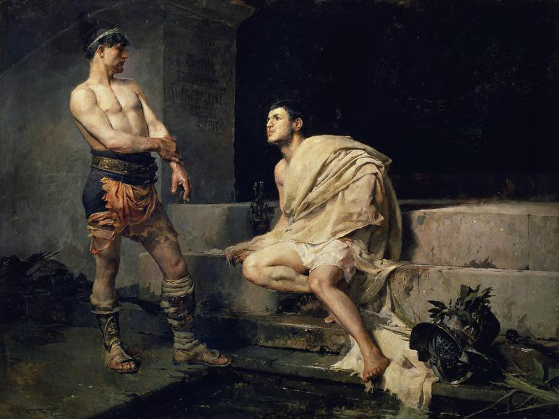 Gladiators After the Fight