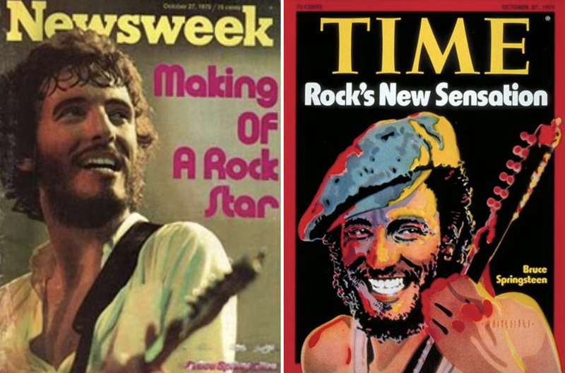 springsteen on newsweek and time