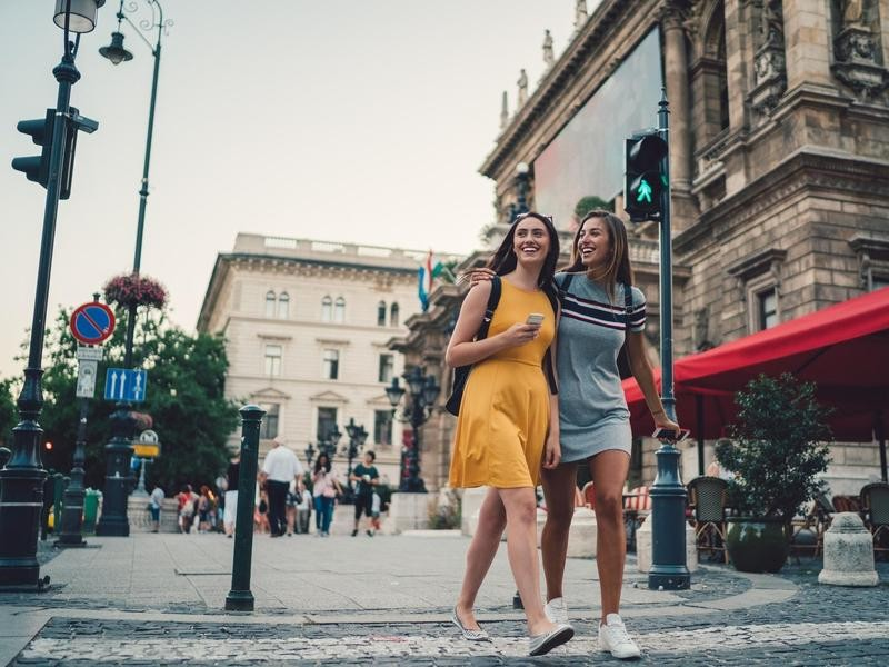 Friends in Budapest
