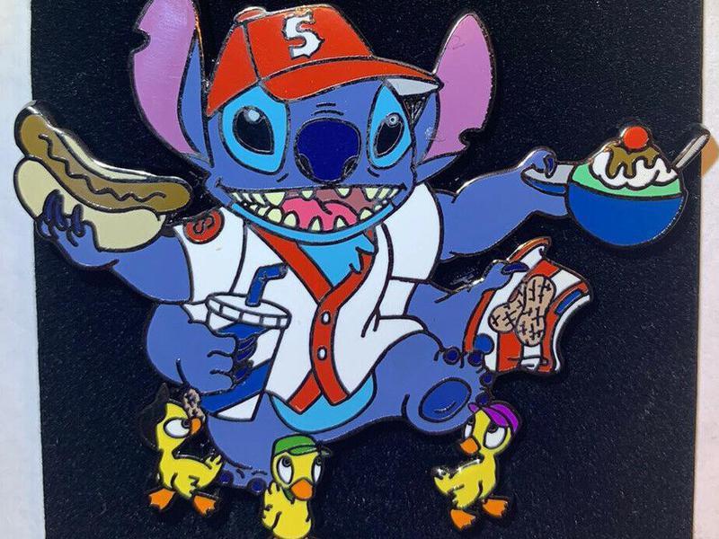 Lilo and Stitch Baseball Series pin
