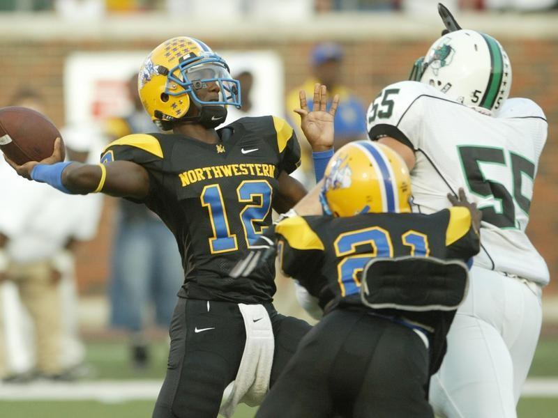 Miami Northwestern quarterback Jacory Harris