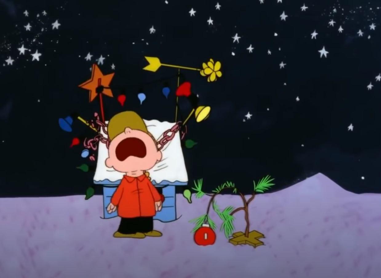 Charlie Brown's Christmas sapling