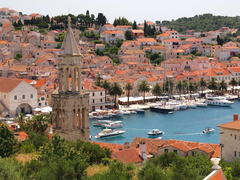 Hvar Town, Dalmatia, Croatia