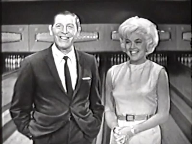 Milton Berle and Diana Dors