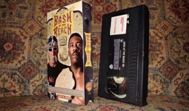 Bash at the Beach VHS tape