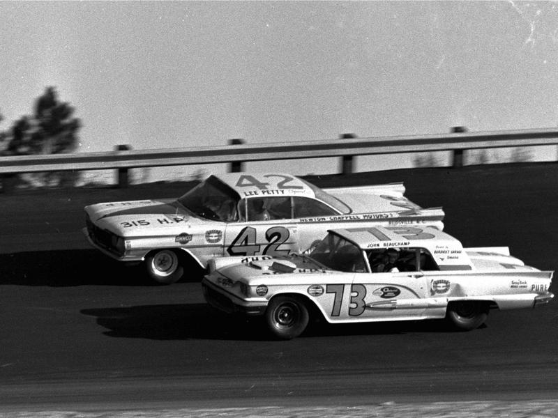 Johnny Beauchamp and Lee Petty