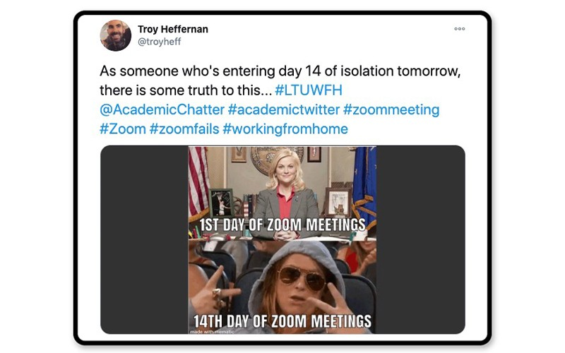 That Zoom meeting life