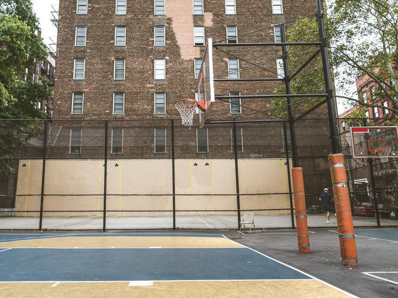 West 4th Street Courts in New York City